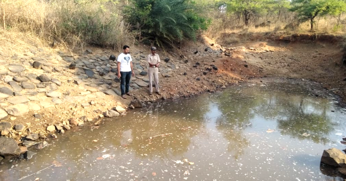 Bengaluru Residents Breathe Life Into Parched Forest, Revive Ponds For Thirsty Animals!