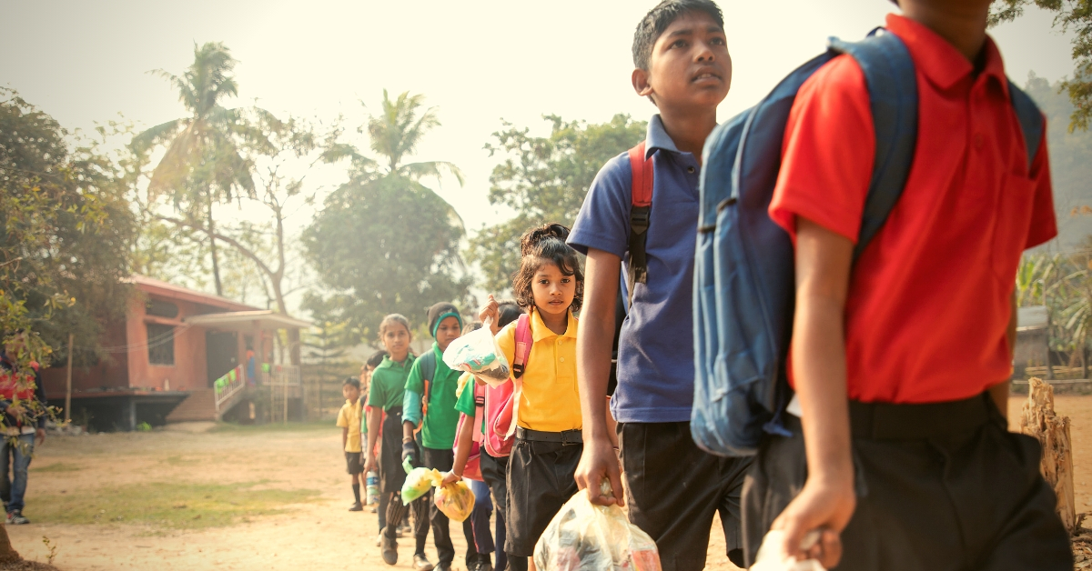 This Couple's Unique School in Assam Accepts Plastic Waste as School Fees!