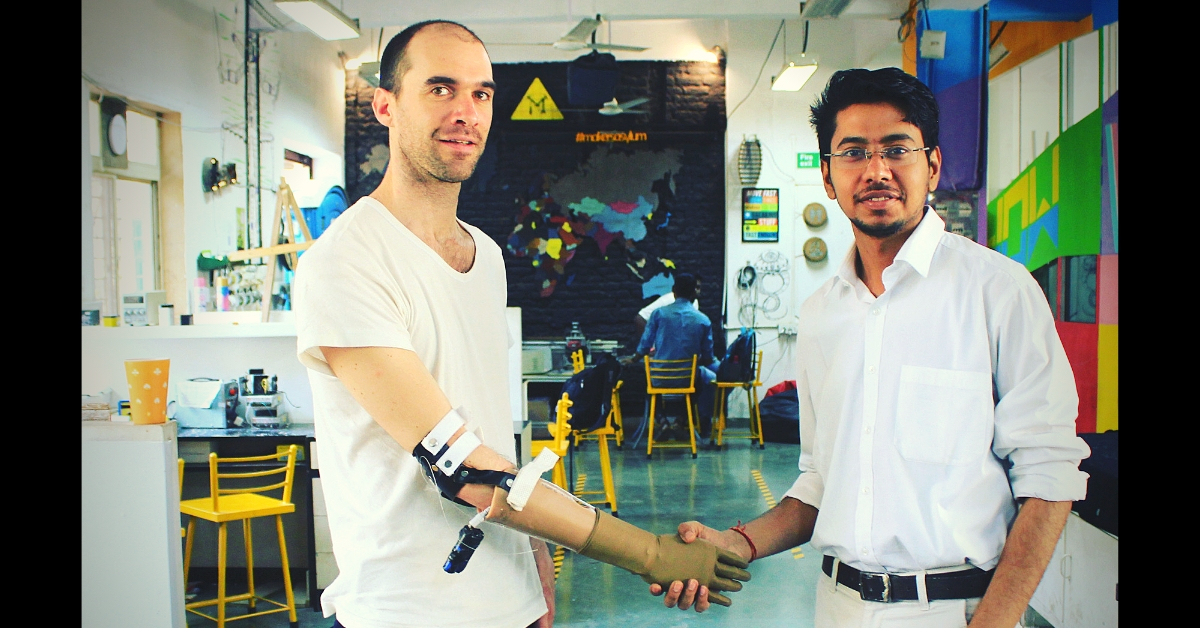 College Dropout From MP Invents Low-Cost Prosthetic Arm That Uses Brain Signals!