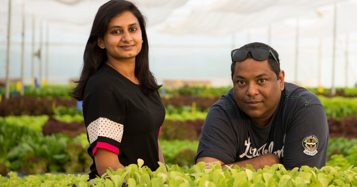 Meet The Uttarakhand Duo Behind One of India's Largest Aquaponic Farms