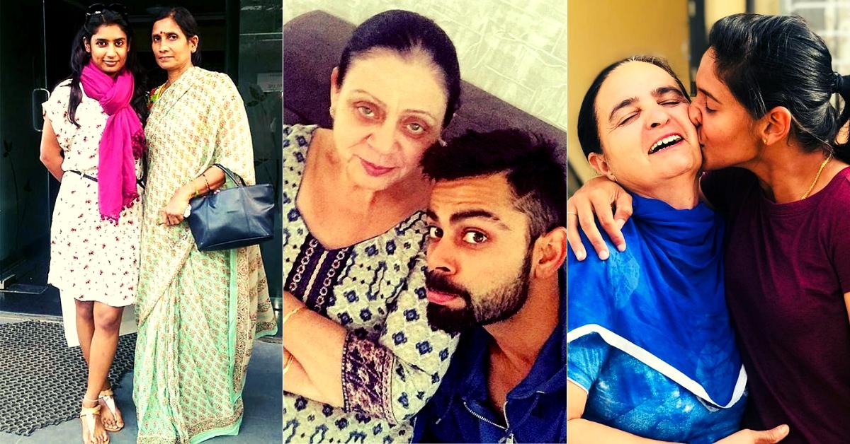 Virat Kohli to Mithali Raj: Meet the Supermoms Behind India's Finest Cricketers