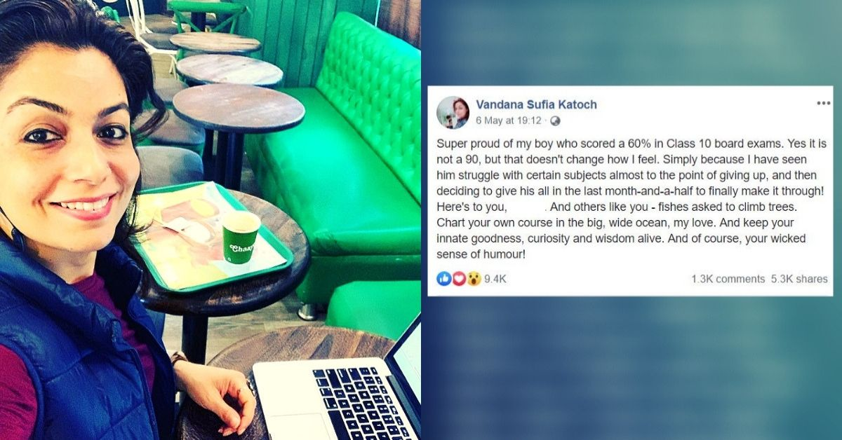 'Proud of My Boy Who Scored 60%': Delhi Mom's Viral Post Wins Hearts For Right Reasons!