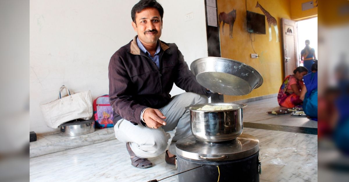 Time To Replace LPG? This Gujarat Man's Solar Stove Lowers Cooking Costs by 80%