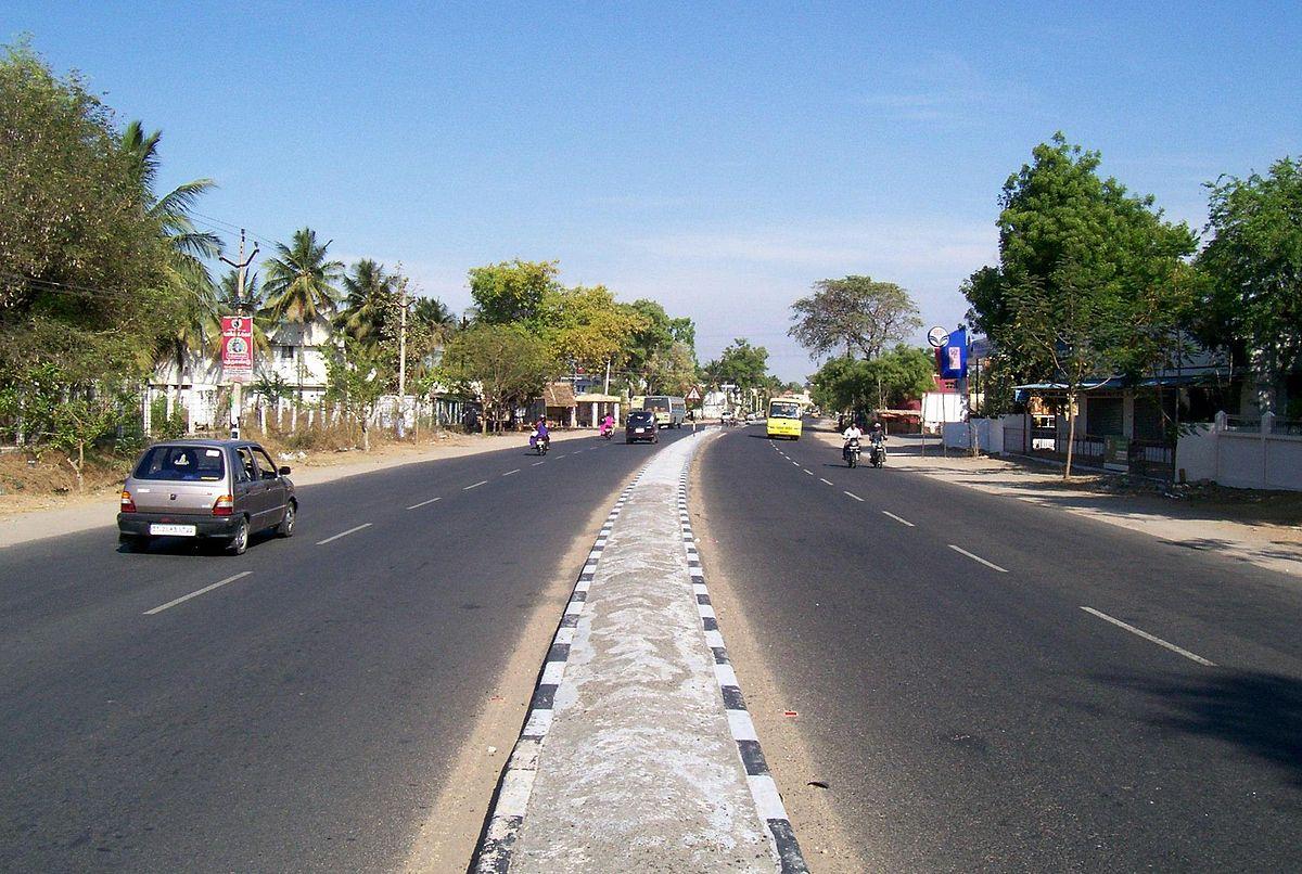 Avinashi-Tirupur-Palladam State Highway 19. (Source: Wikimedia Commons)