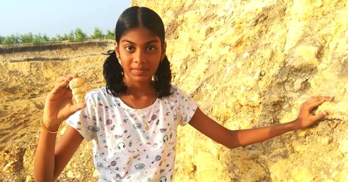 12-Yo Chennai Girl With 79 Fossil Specimens Is India's Youngest Palaeontologist!