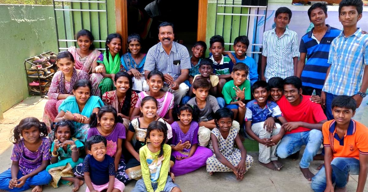 Chennai Man is 'Appa' to 45 HIV +ve Kids Abandoned By Their Families!