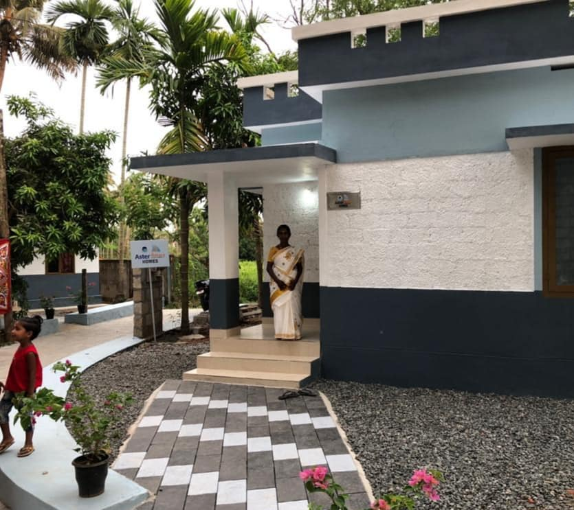 New homes for those who lost their own during the Kerala Floods last year. In collaboration with Aster Homes. (Source: Facebook/Gopal Shankar)
