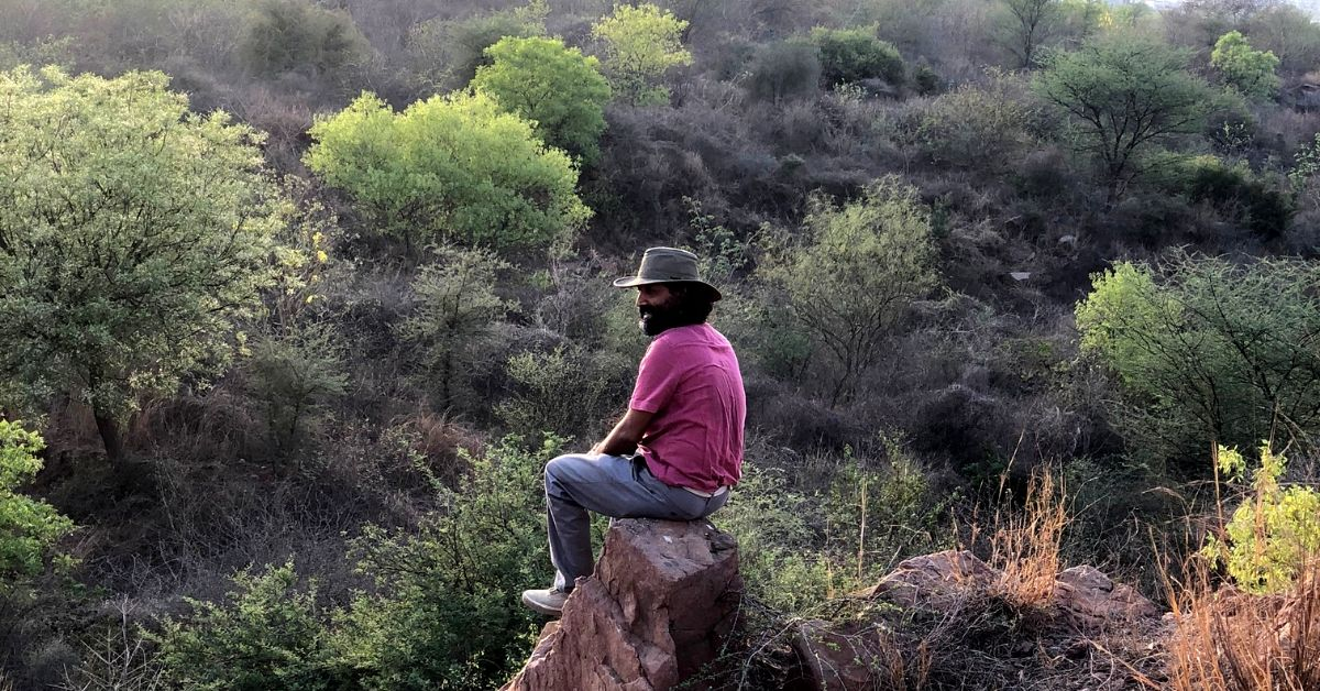 This Eco-Warrior Reforested 400 Acres of India's Oldest Mountains with Native Flora!