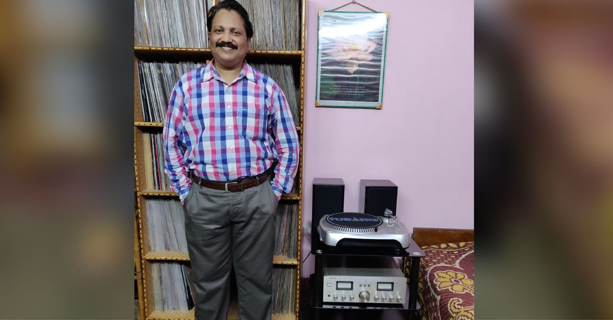 Odisha Civil Servant Collects 4000+ Vinyl Records, Uses YouTube to Preserve History