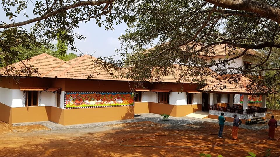 Habitat Latest Project: Vellinezhy Kalagramam. A small hamlet on the banks of Kunthipuzha in Palakkad, Vellinezhi is unique for the sheer number of art forms that thrive here. (Source: Habitat Technology Group)