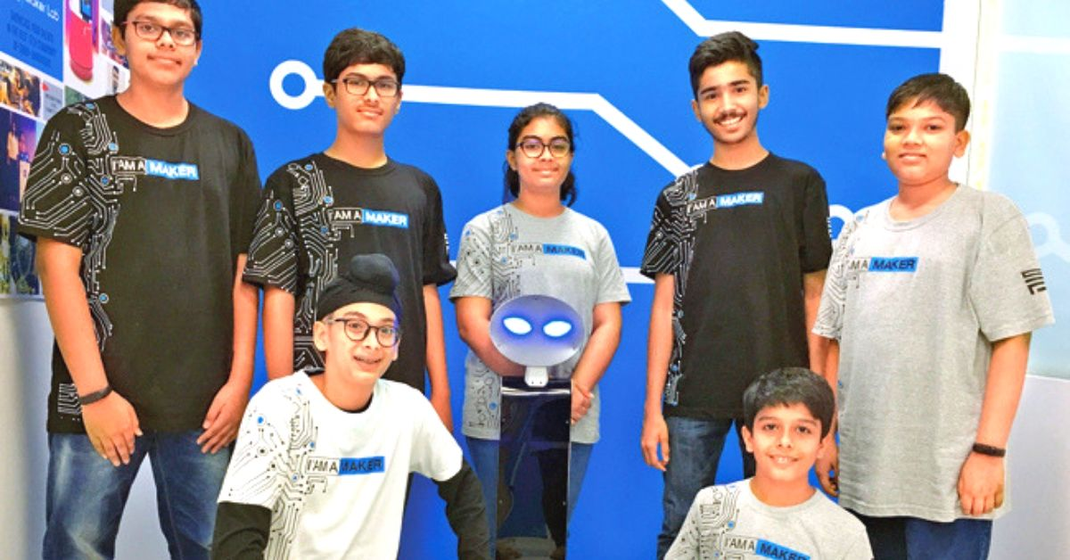 Inspired by Amazon Bots, Mumbai Teens Build Robot That Delivers Things!