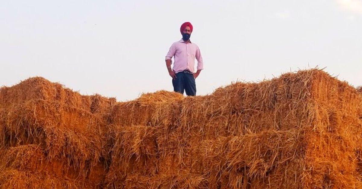 Stubble Burning: Punjab Man Uses Straw to Make Fuel, Eco-Products!