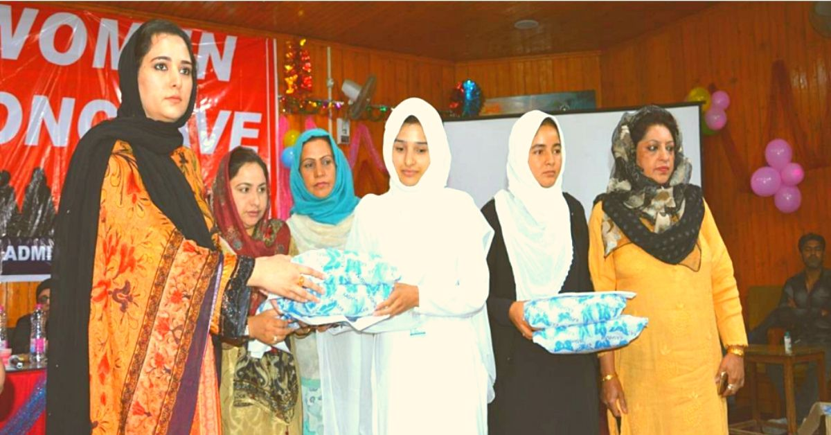 Kashmir's Only Woman DC Smashes Stigma Around Periods, Brings Girls Back to School!