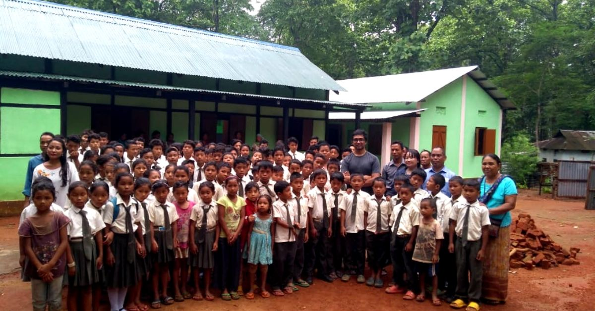 Meghalaya IFS Raises Rs 2.8L to Repair School, Ensures 200 Kids Don't Drop Out!