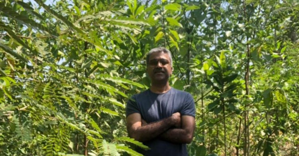 Mumbai Doctor Spends Rs 1.6 Lakh from Own Pocket to Grow Forest of 1500+ Trees!