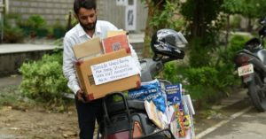 Punjab man collects thousands books poor students education hero india