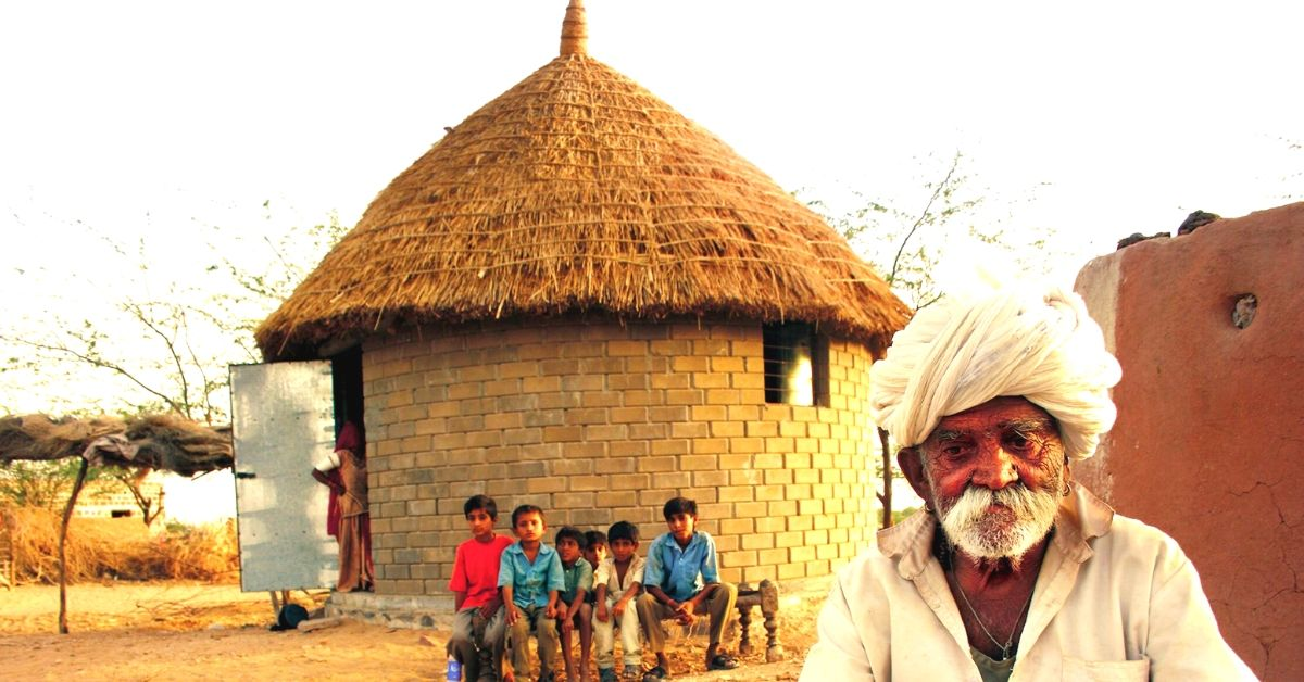 These Low-Cost Eco-friendly Rajasthani Homes Can Survive Floods & Earthquakes!