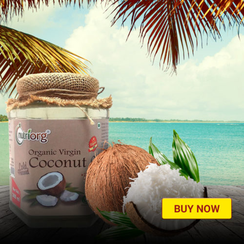 Organic Coconut Oil.
