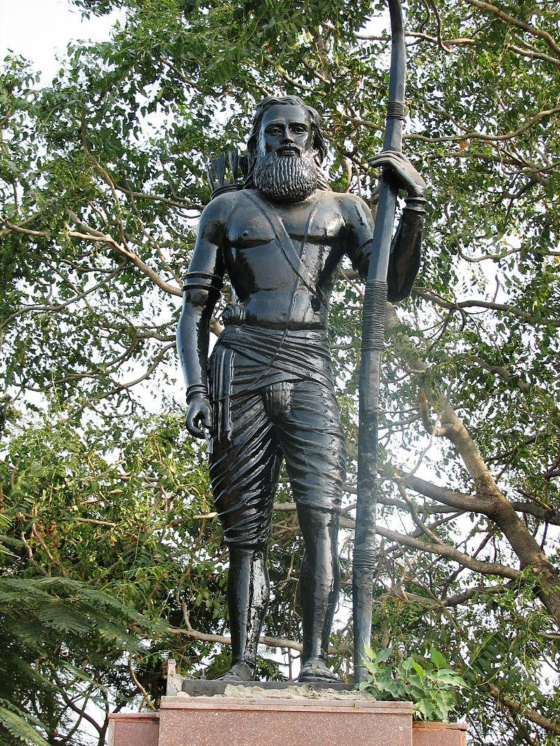 A statue of Alluri Sitarama Raju (Source: Wikimedia Commons)