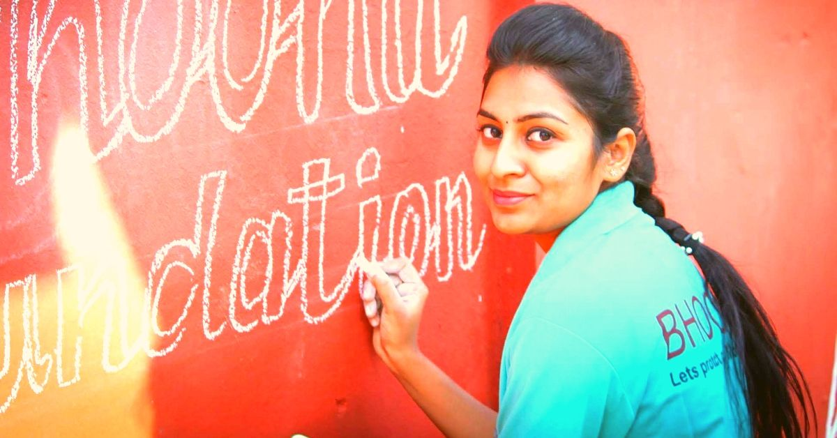 Andhra Engineer Spends 70% Of Her Salary to Clean 2 Cities & Make Them Poster-Free!