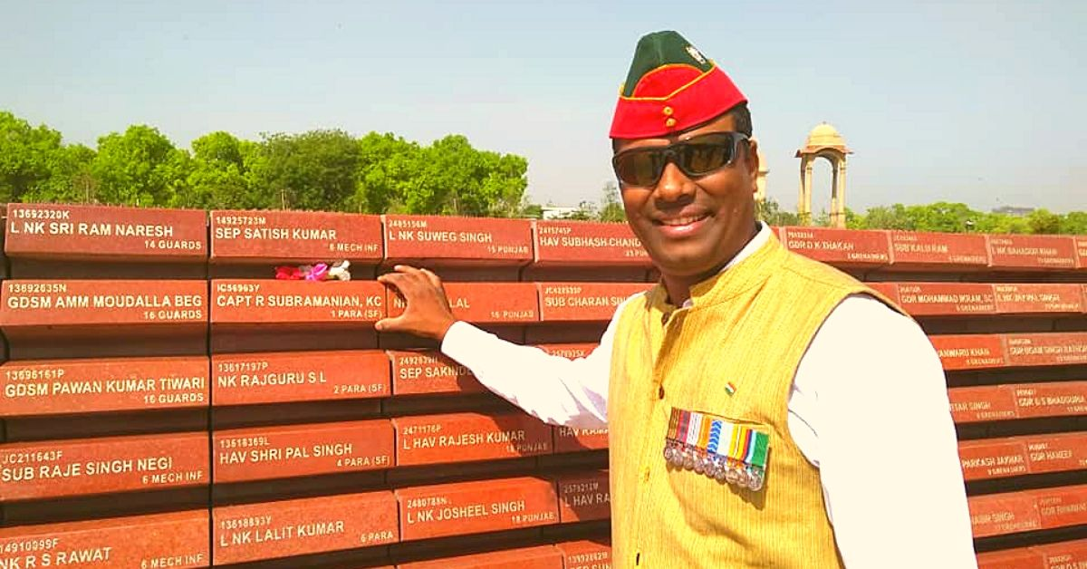 Shaurya Chakra Winner Helps The Forgotten Families of Soldiers Who Died On Duty