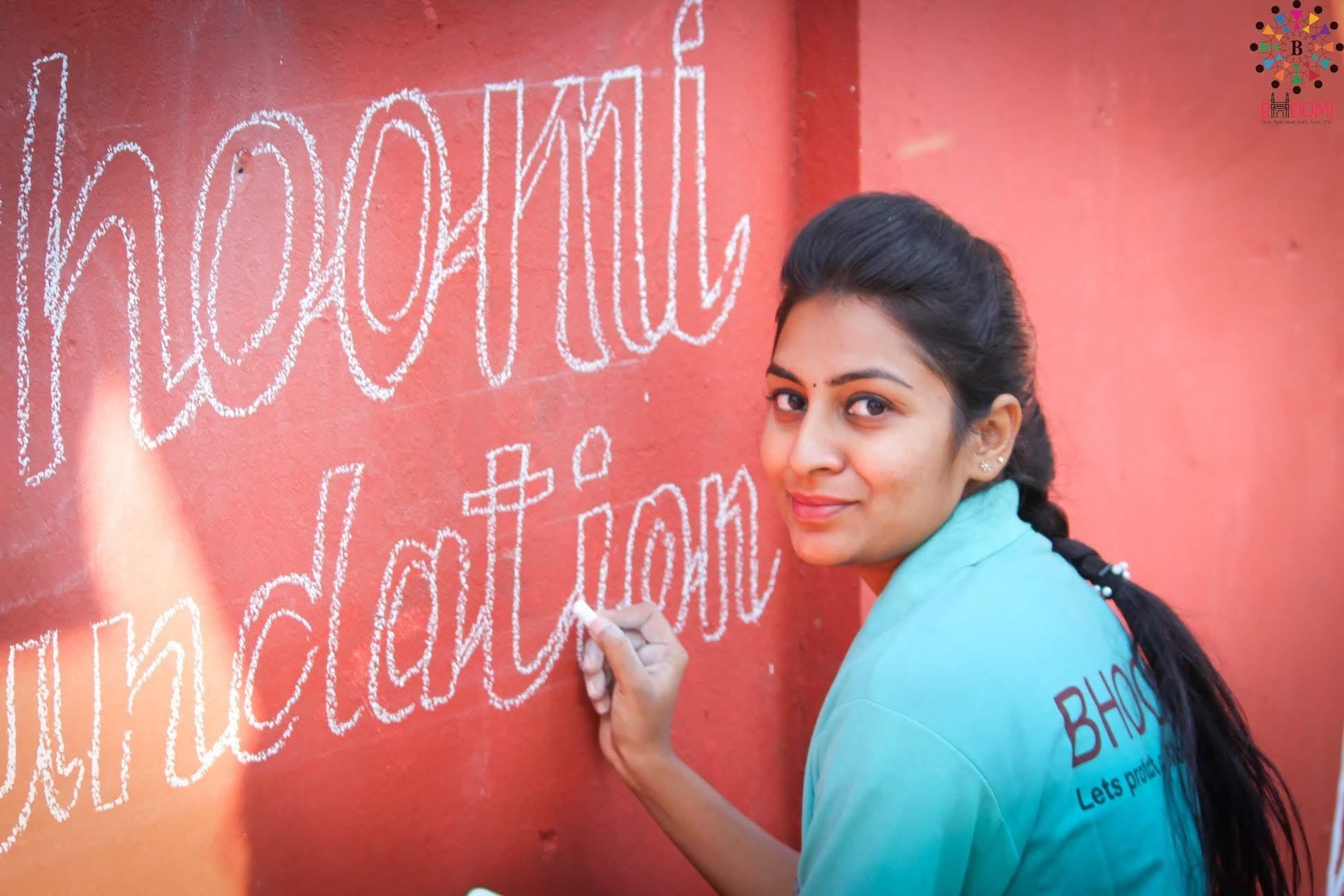 Tejaswi Podapati (Source: Bhoomi Foundation)