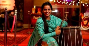 Punjab girl smashing stereotypes youngest female dhol player india (1)