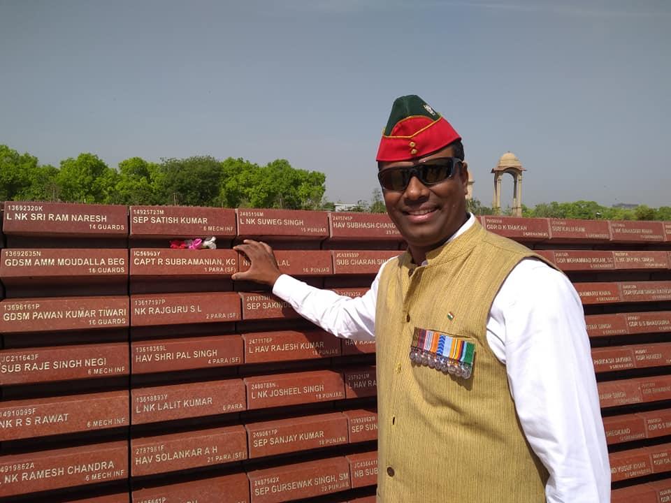 Colonel Shankar Vembu (Retd)