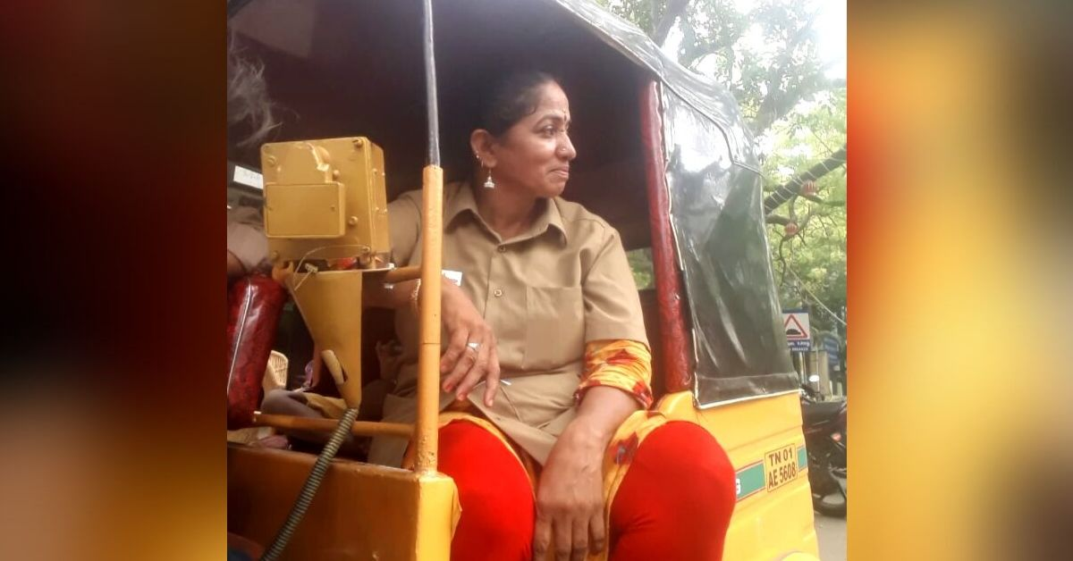 Safe Late-Night Rides for Women, Free Rides for the Poor: Meet Chennai's 'Auto Akka'!
