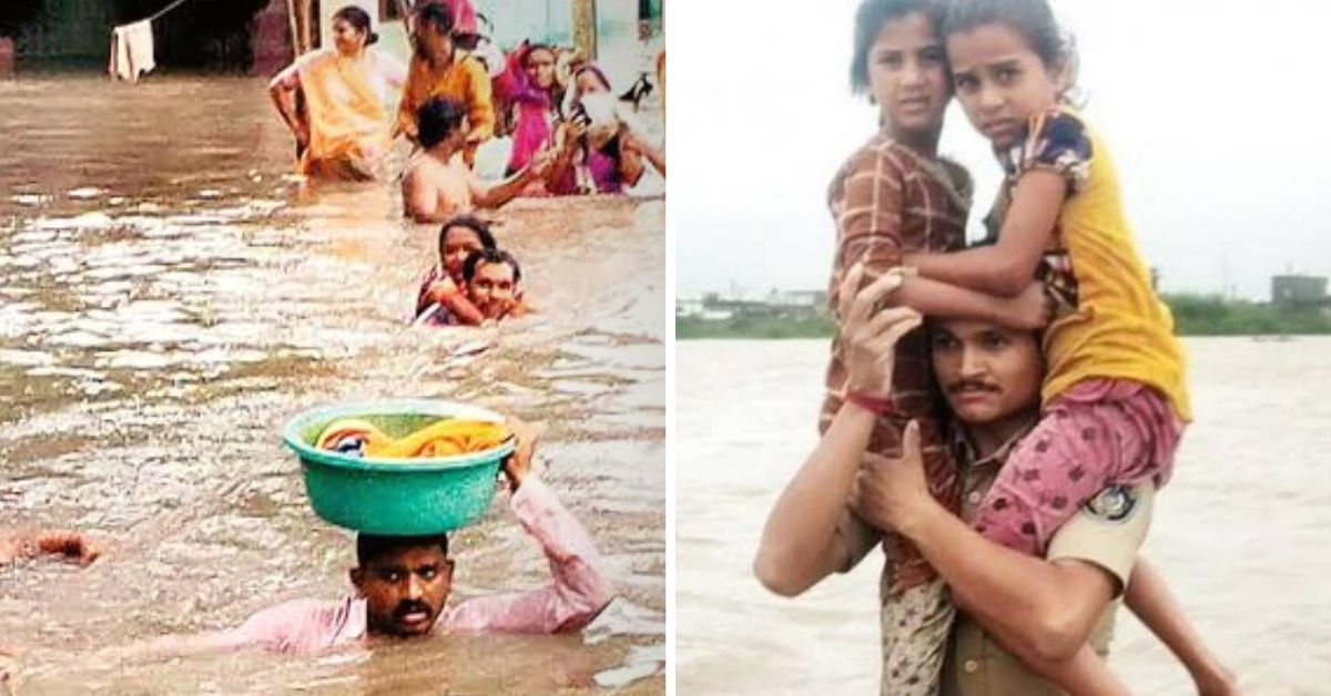 A Flood of Heroes: 6 People Helping the Stranded With Courage & Compassion!