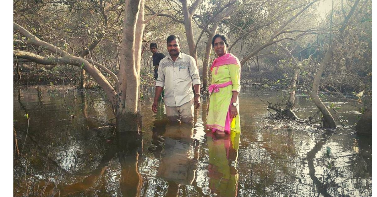 Goons To Threats: Nothing Can Break This 56-YO's Will To Save Mumbai's Mangroves