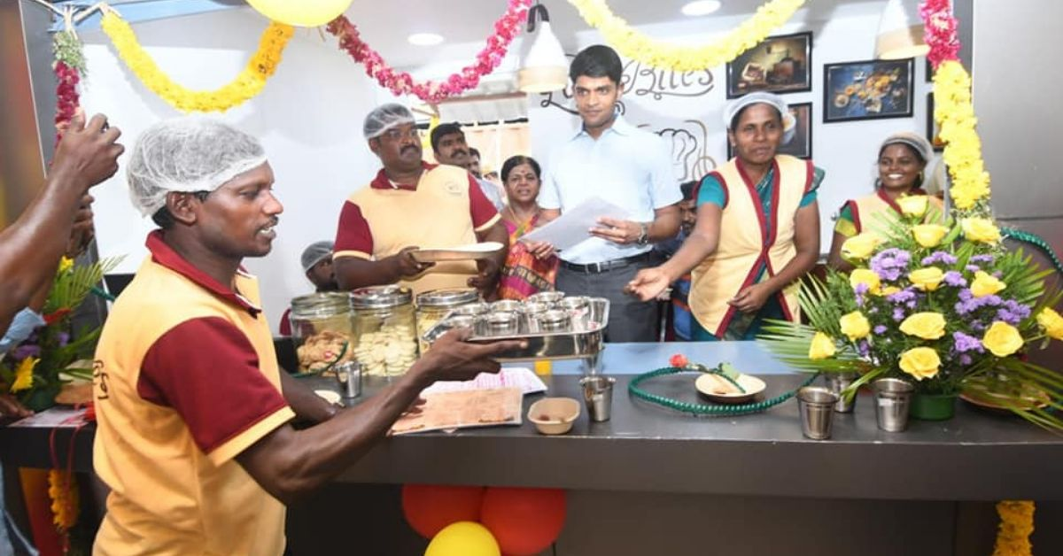 TN IAS Officer Launches One-of-a-Kind Café, Provides Jobs To The Differently-Abled