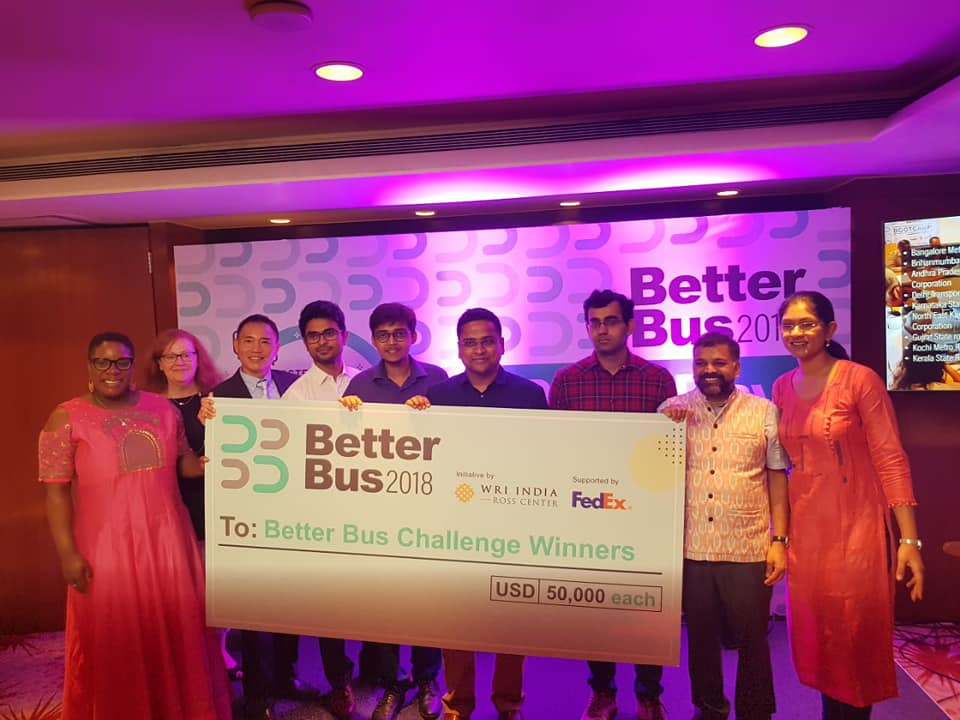 Winning the Better Bus challenge. (Source: Cell Propulsion)
