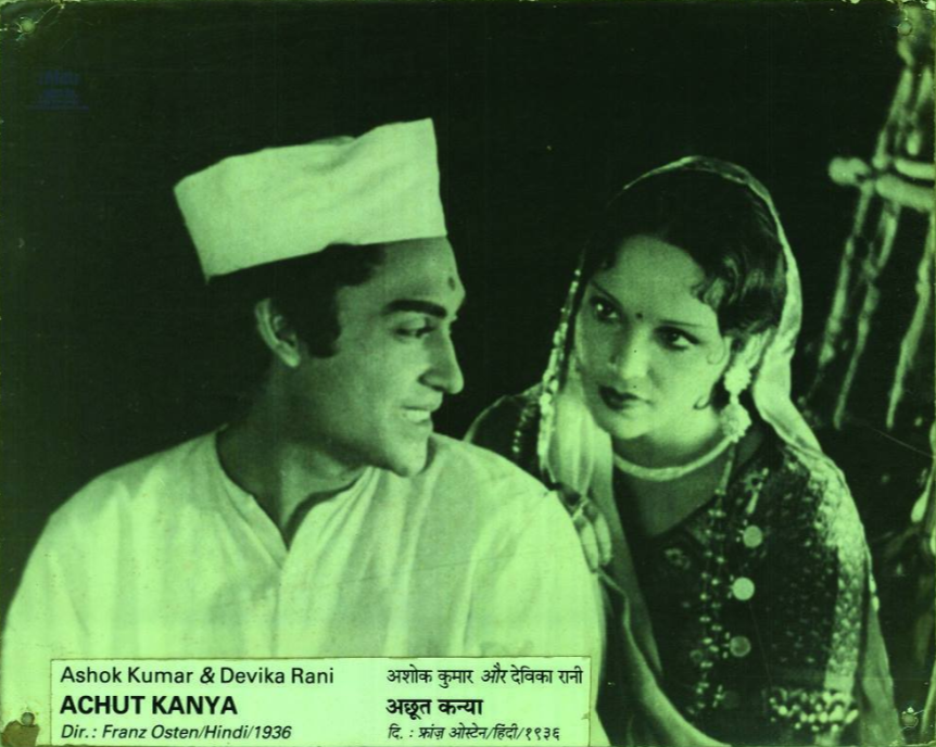 Devika Rani with Ashok Kumar in Achut Kanya. (Source: Twitter/NFAI)