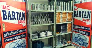 Indore municipal corporation plastic ban bartan bank reusable india