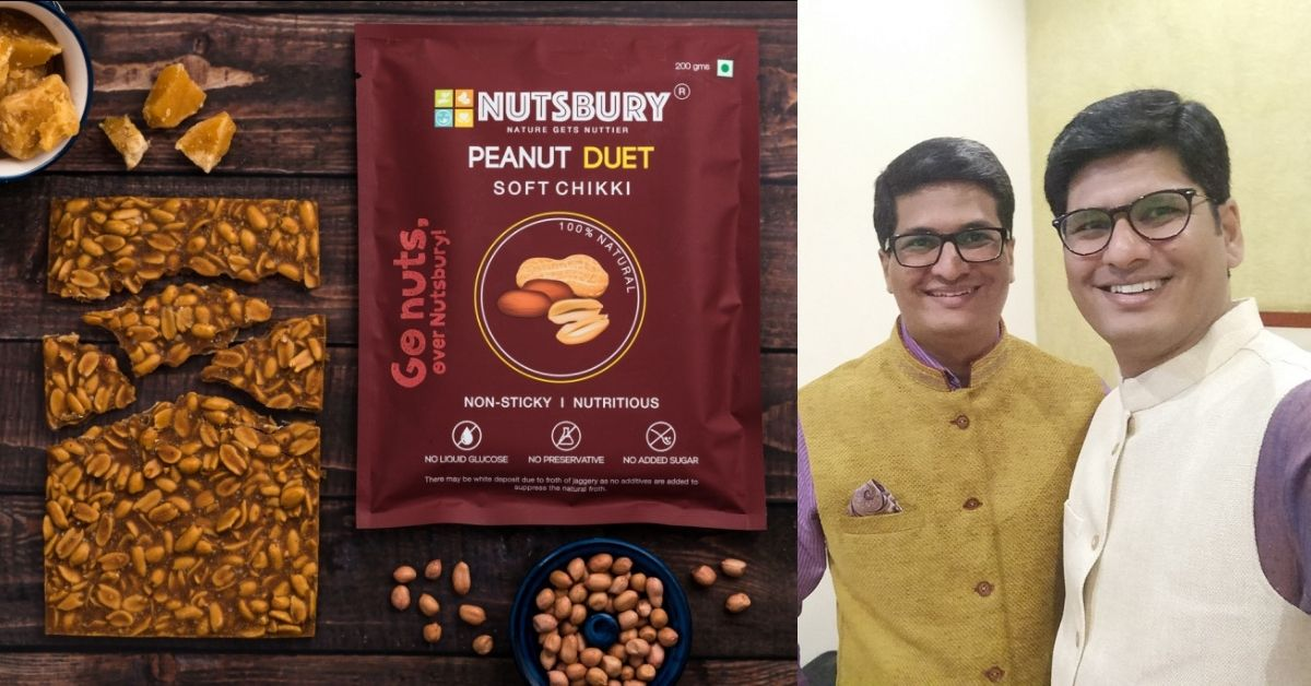 No White Sugar: Pune Brothers Use 'Nutty' Family Recipe To Make Healthy Chikki!