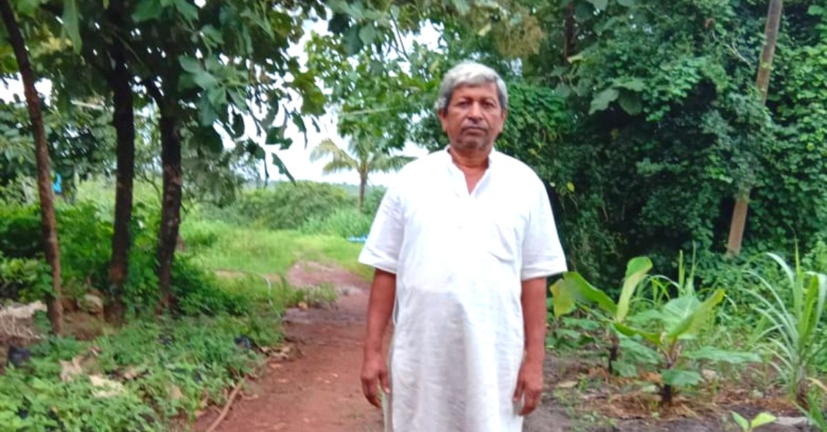 Yoga Teacher Quits Job, Grows Organic Food For Underprivileged Students!