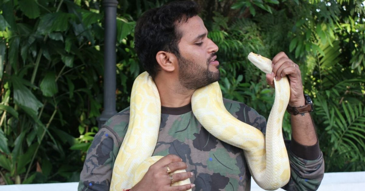 Andhra Vet Risks Life to Save 300+ Wild Animals, Shows True Humanity!
