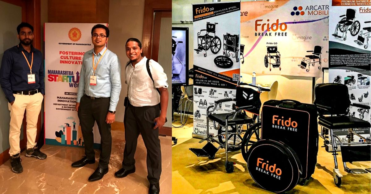 Foldable & Bathroom-Compatible: Pune Startup Designs Travel-Friendly Wheelchair!
