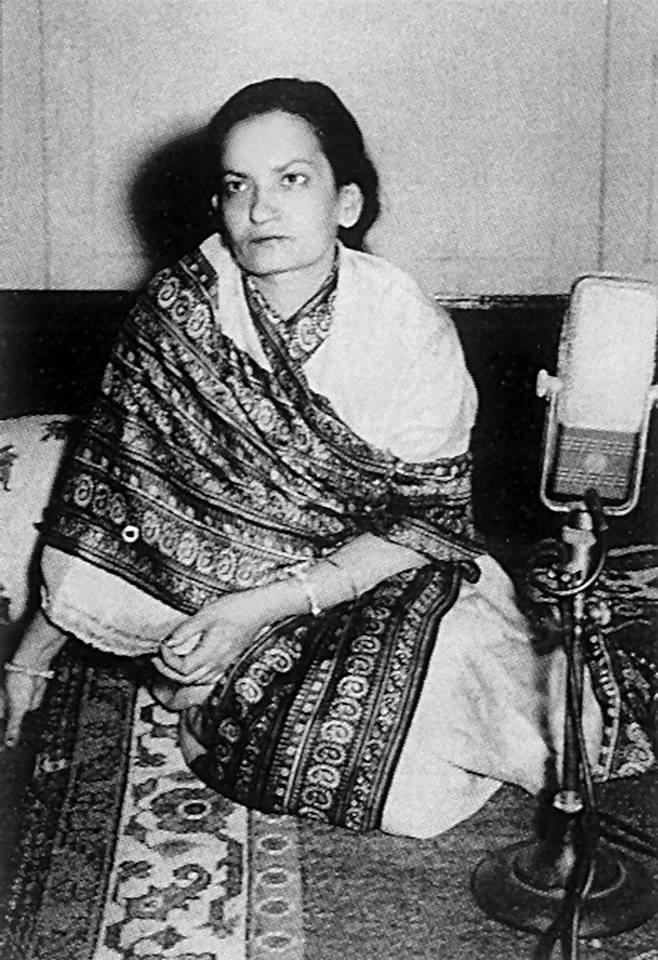 Begum Akhtar (Source: Facebook)