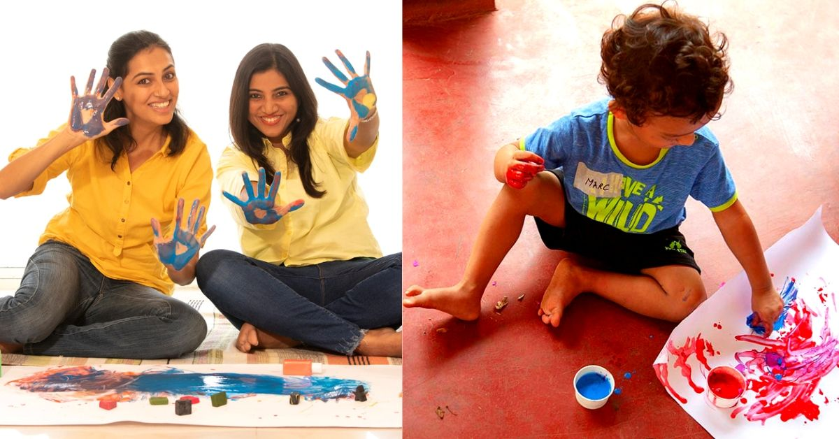 Baby Ate The Crayon? Bengaluru Duo Have The Perfect Product For Your Budding Artist