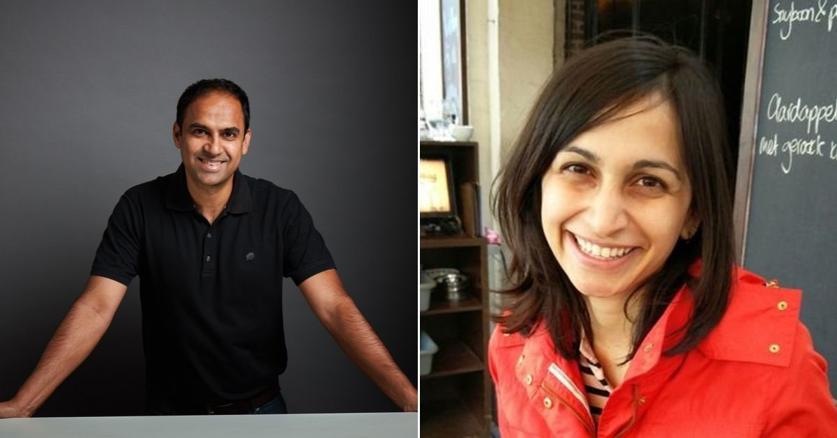 Qure.ai Founders: Prashant Warier and Dr Pooja Rao.