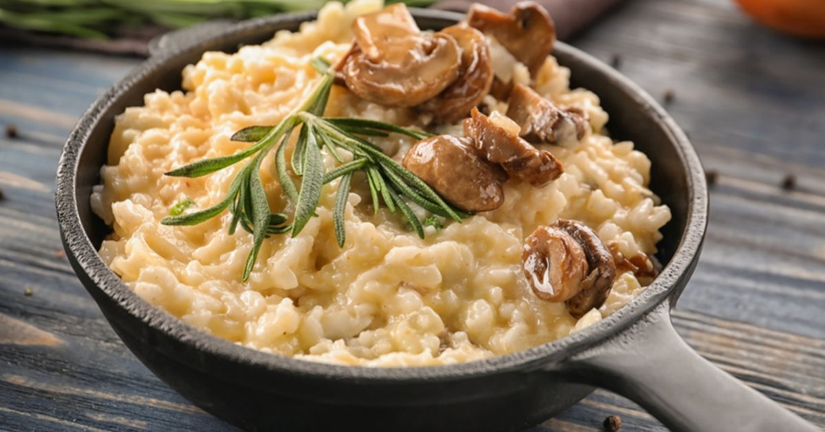 This Cheesy Oats Risotto Recipe Gives You The Best of Both Worlds – Health & Taste