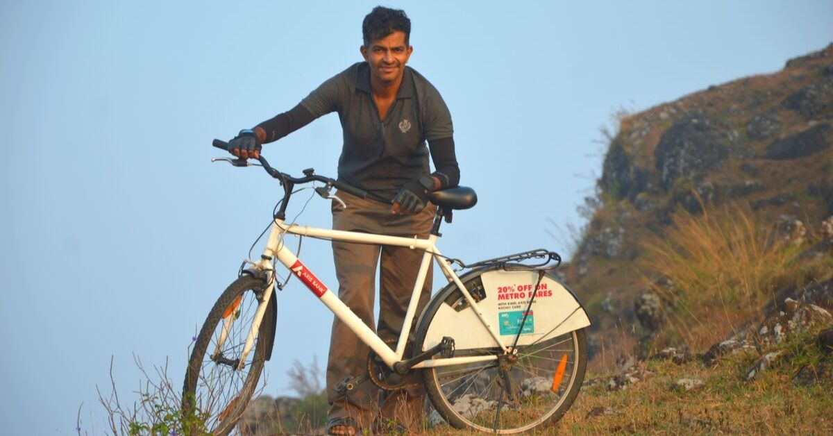 Kerala Engineer Quits Job to Start Bicycle-Sharing Club, Now Has 8000 Users in 3 Cities!
