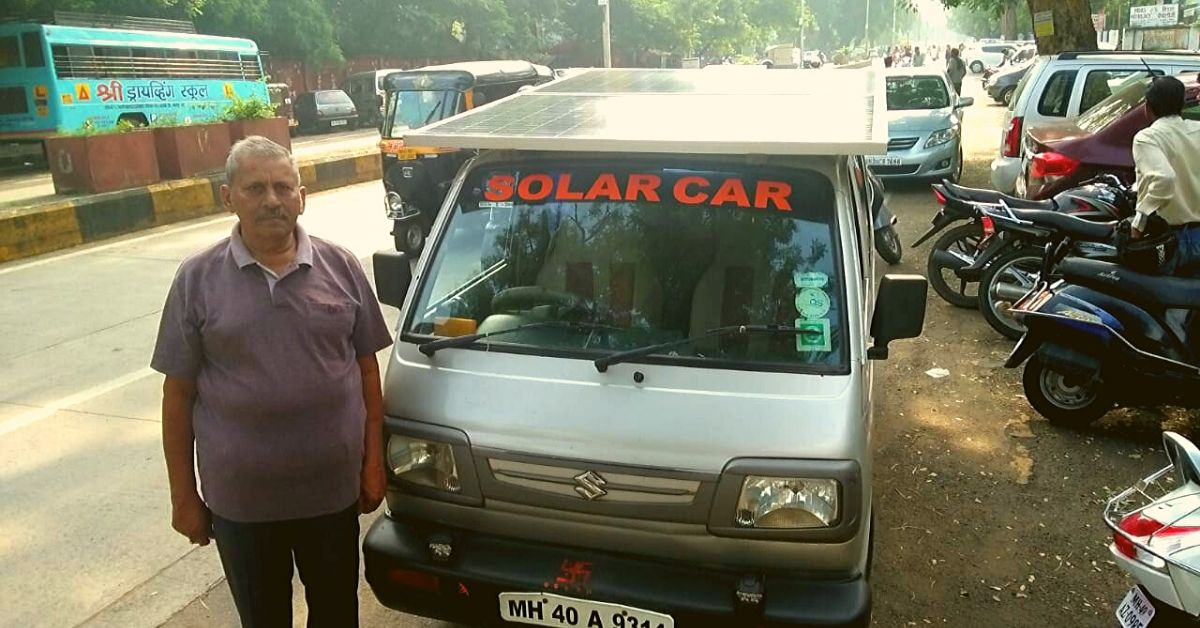 Nagpur Man Converts Van into Solar-Powered Car, Has Driven 3500 Kms!