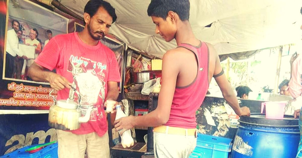 Kanpur Tea-Seller Uses 80% Income to Educate 40 Needy Kids, Inspires VVS Laxman!