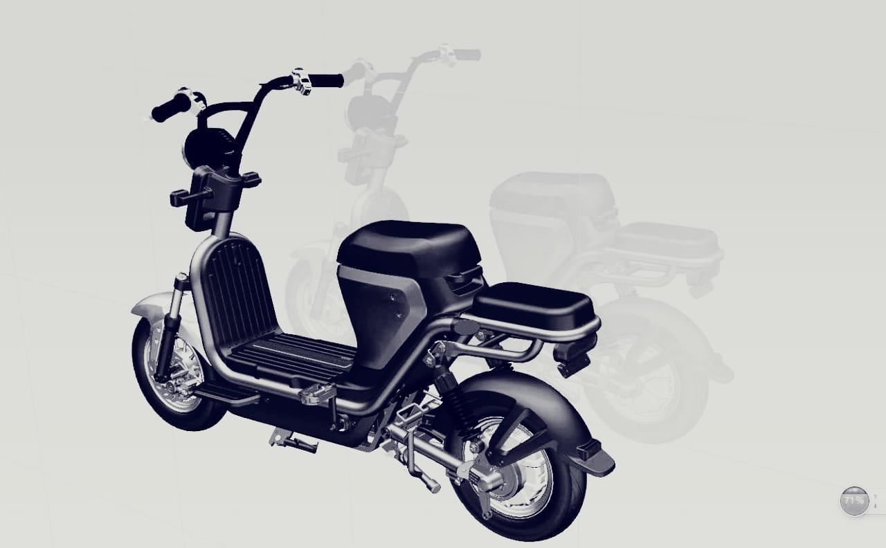 Gugu Energy Moped teaser. (Source: Gugu Energy)