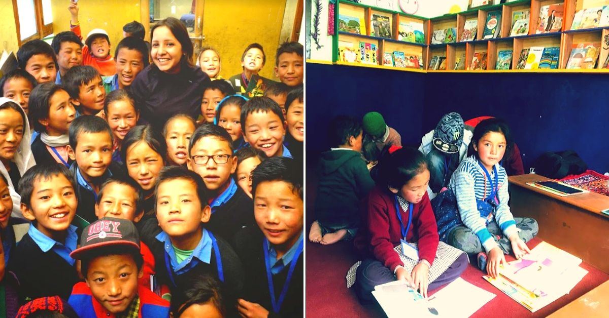 Kolkata Woman Gives Up Corporate Life, Helps 600+ Kids in Spiti Discover The Joy of Books!