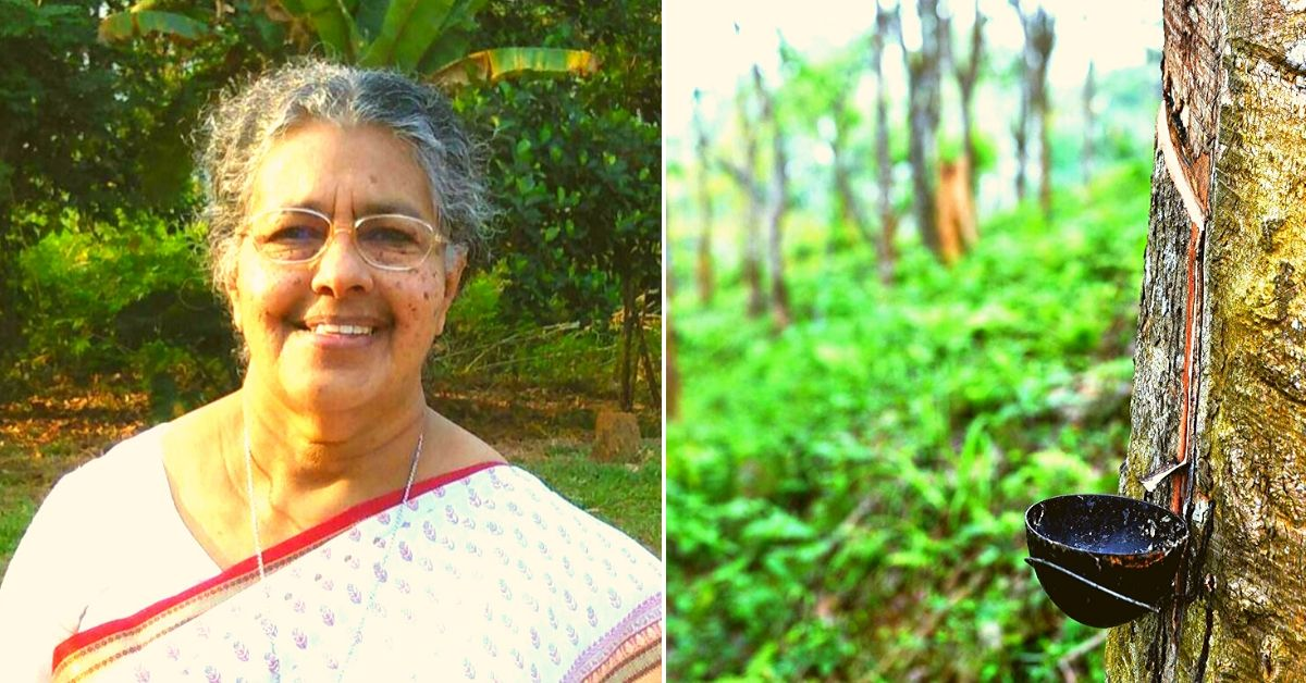 Here's How This Kerala Woman Used the Magic Of Rubber To Uplift Meghalaya's Garos