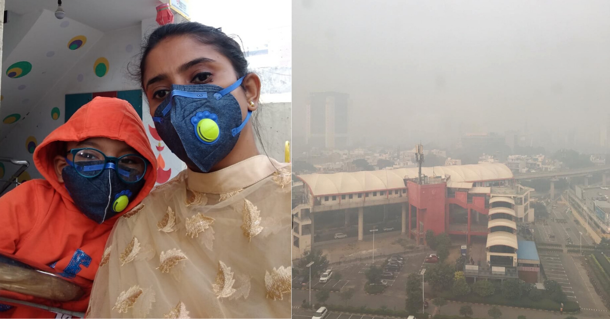 My Kid is a Chain-Smoker, Just by Being in Delhi: India Must Heed This Mom's Appeal
